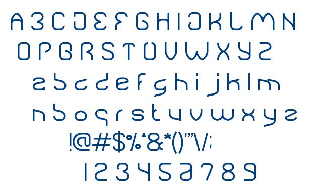 natural technologies font
