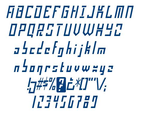 Operational Amplifier font