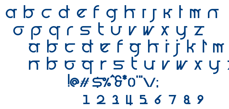 Prognostic font