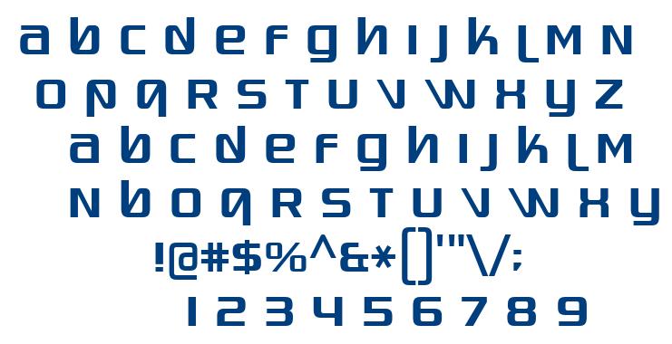 Quadaptor font
