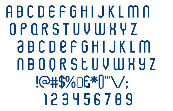 Rothwell font