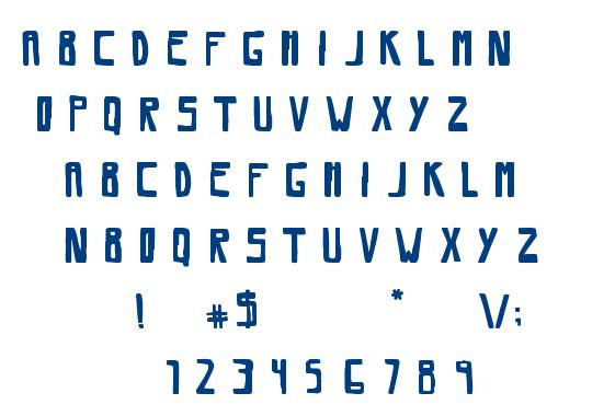 Savia Regular font