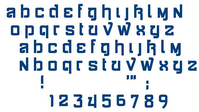 Siamese Katsong font
