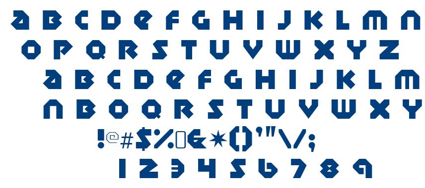 Sudbury Basin font