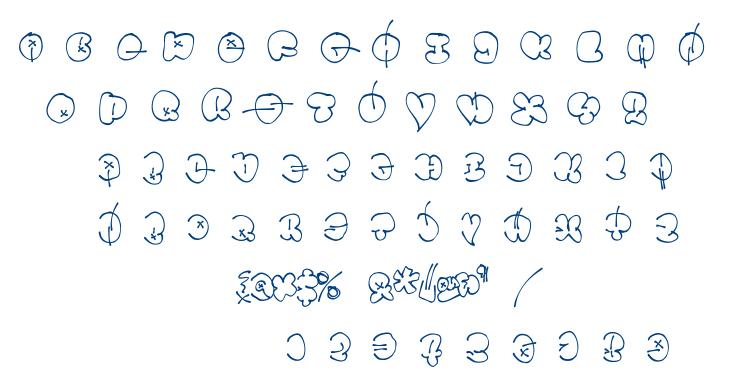 Throwupz font