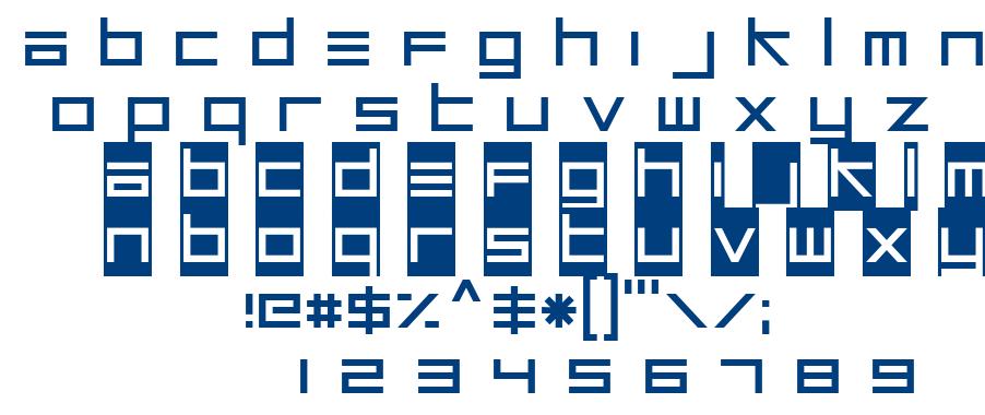 Unsteady Oversteer font