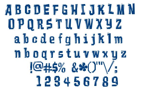 Vademecum font