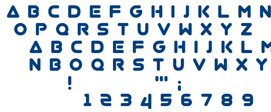 Virgo.01 font
