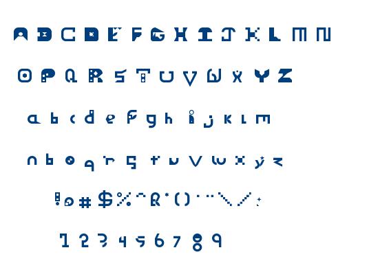 Vortex font