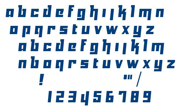Yukarimobile font