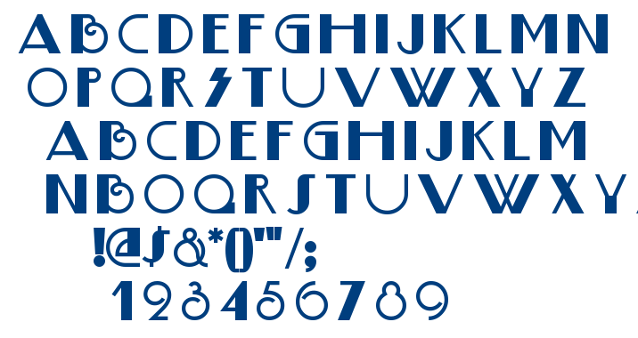 Boogie Nights NF font