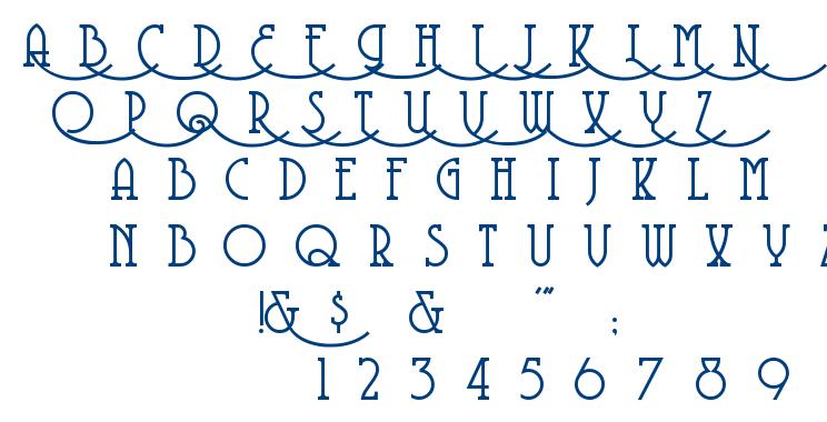 Coventry Garden font