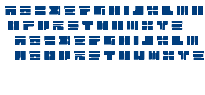 Cable font