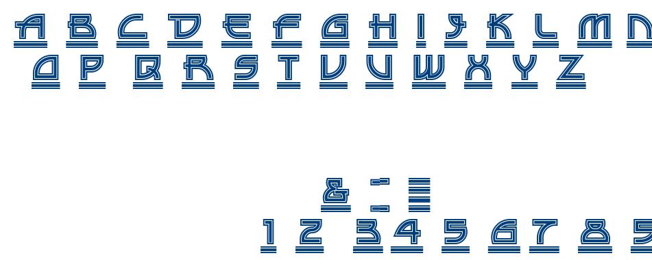 DRIVE-THRU font
