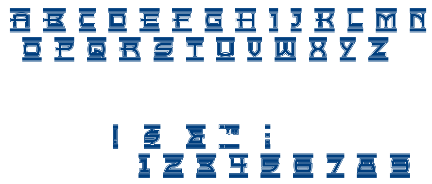EMPIRE STATE font