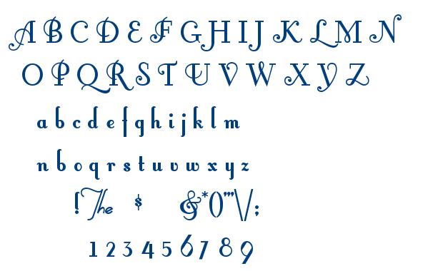 Fontleroy Brown font