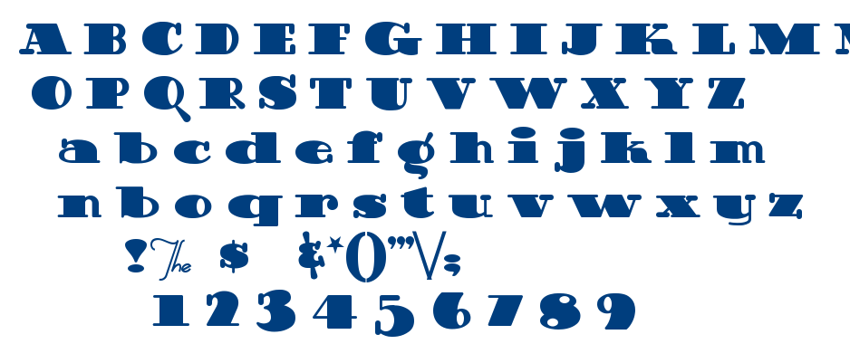 Guinness Extra Stout font