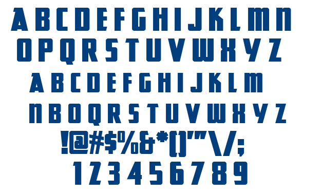 Great Lakes NF font