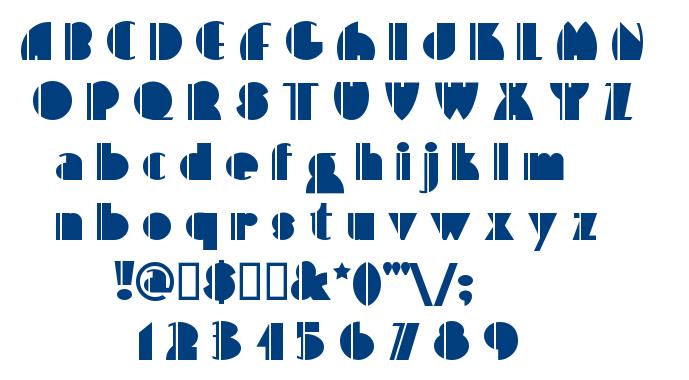 High Five font