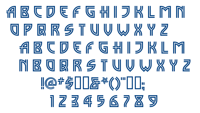 Madison Square font
