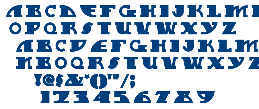 MyGalSwoopy NF font