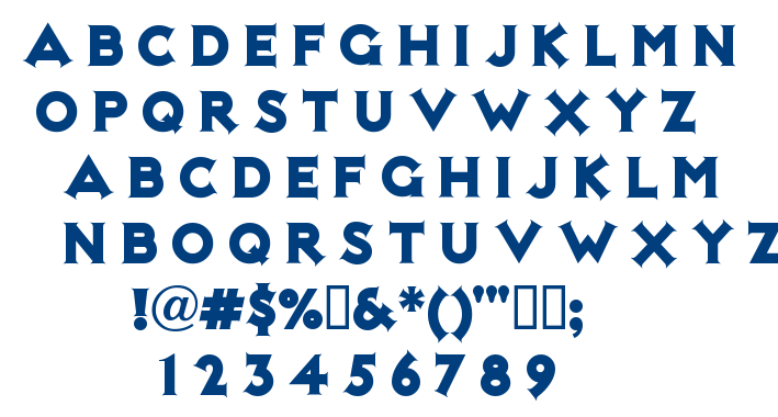 Not Mary Kate font