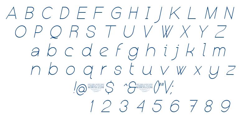 Kerater font