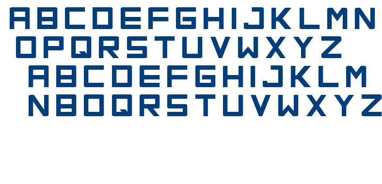 Orena font