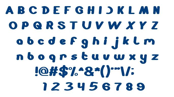stabilo spidol font