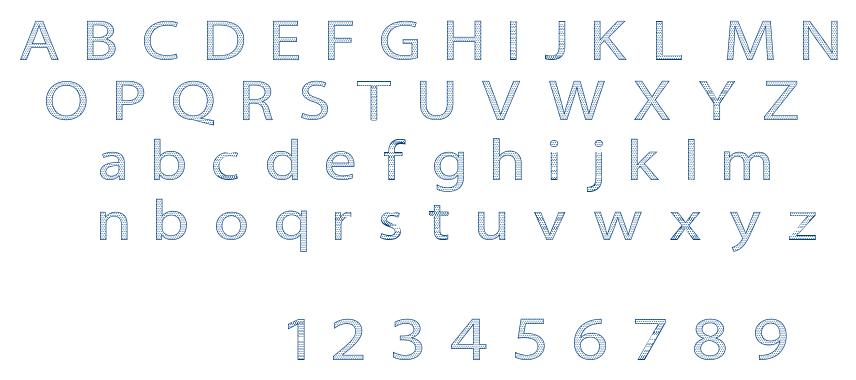 Seni Pop font