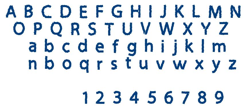 Sticky Notes font