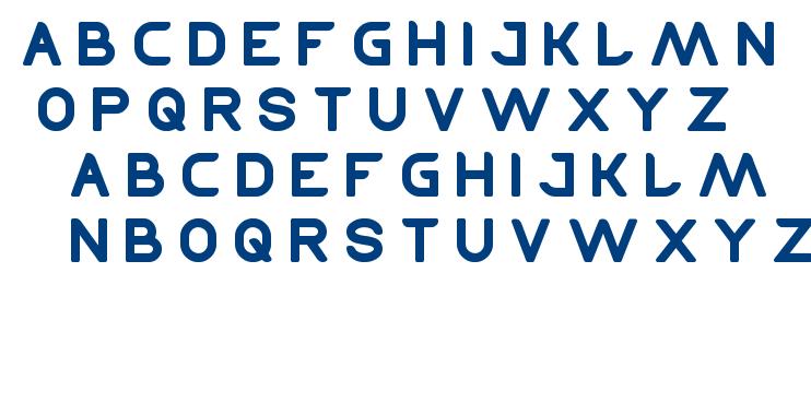 tehnique font