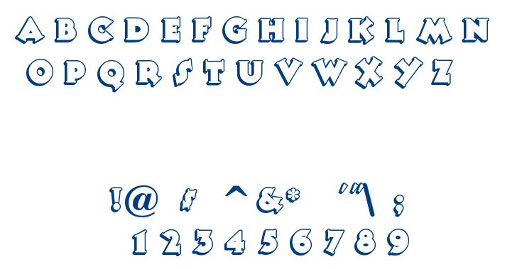 Tooney Noodle font