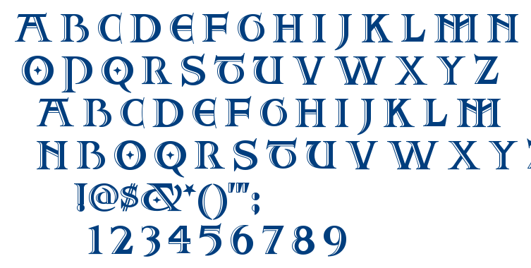 Two For Juan NF font
