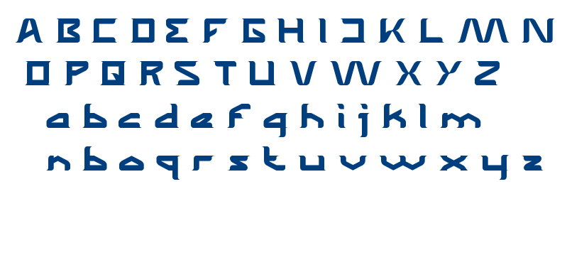 The Wizard of One Click font