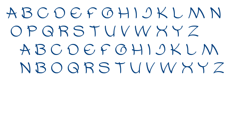 umbrella font