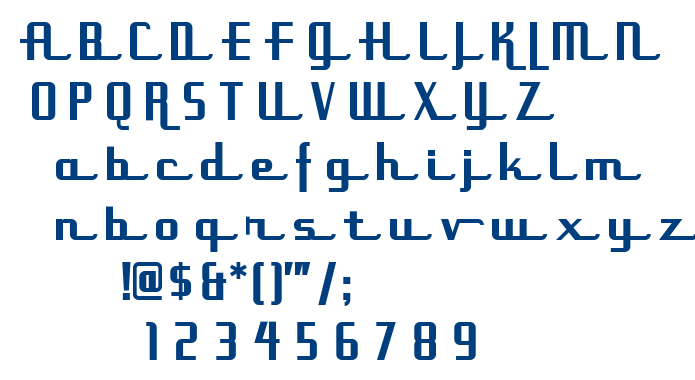 Uppen Arms NF font