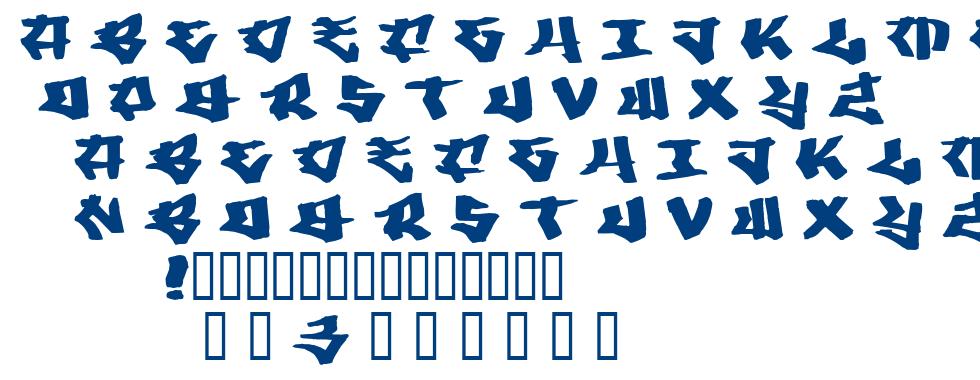 Writers 3 font