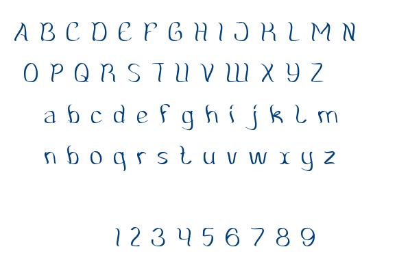 Amazing Symphony font