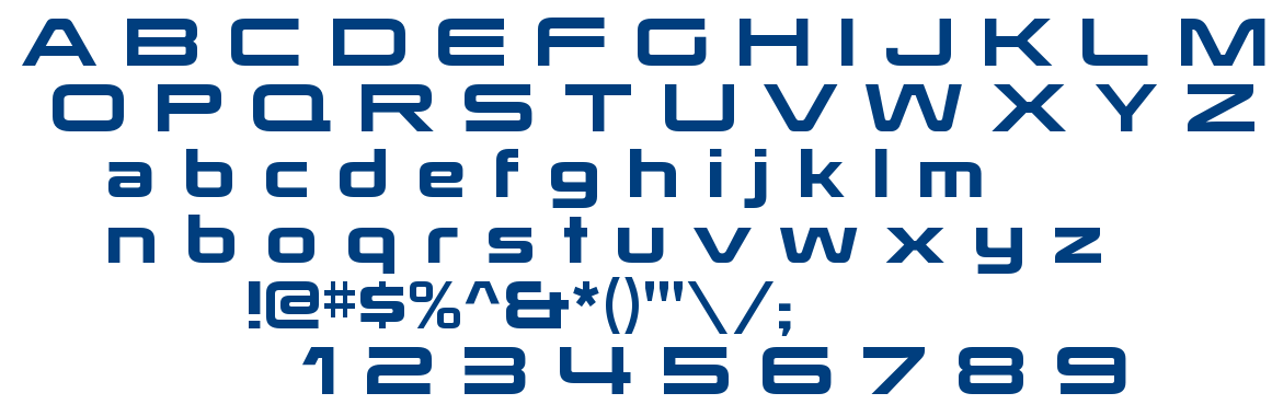 Mass Effect 123 font