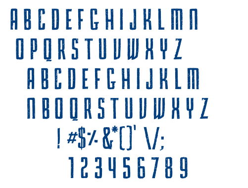 Primma Handmade font