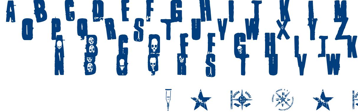 one punk font