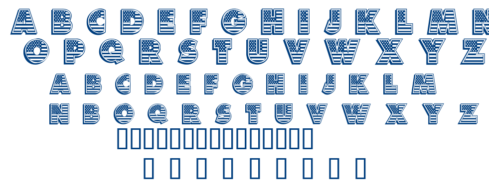 American Dream font