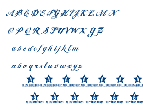 Angel Tears font