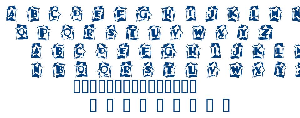 A star is born font