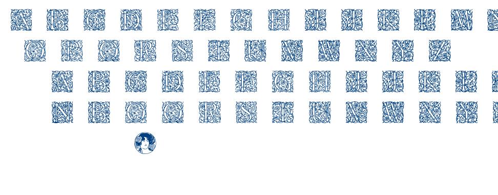 Arabesque Initialen font