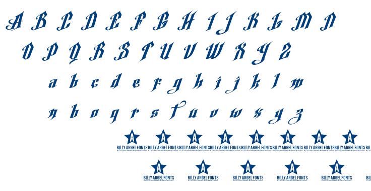 Argel Font font