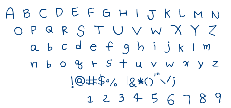 Batty Girl font