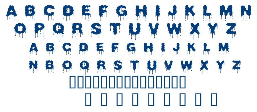 Beurk font