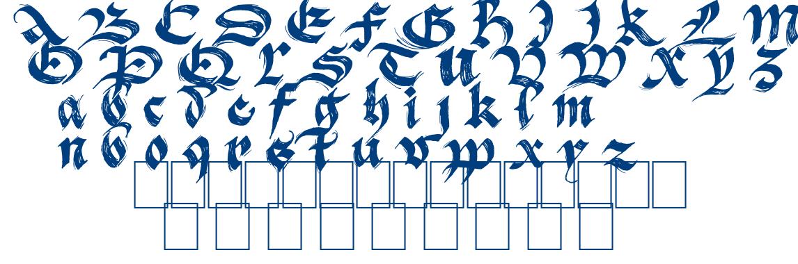 BlackFlag font